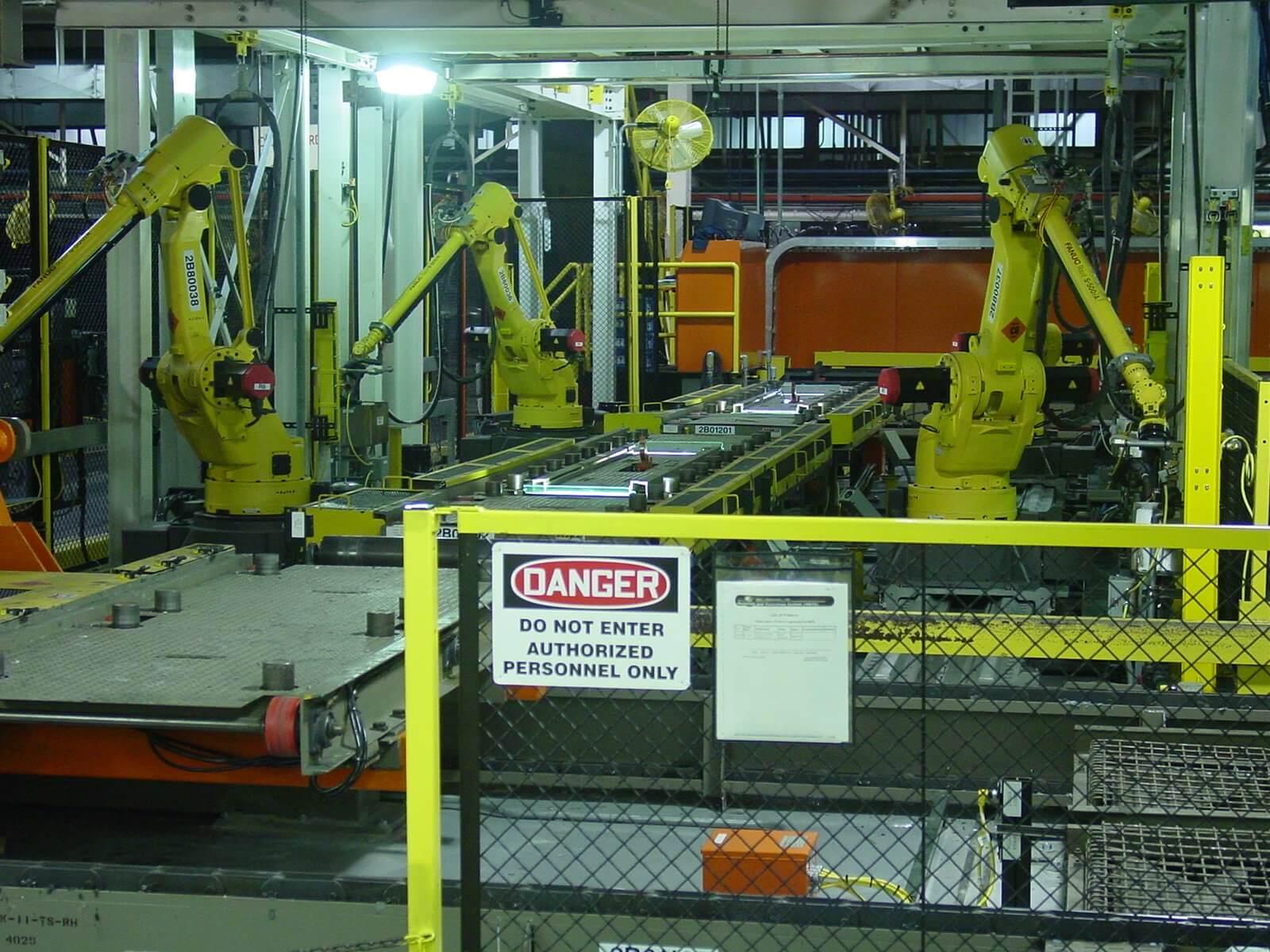 sealer-robot-installation