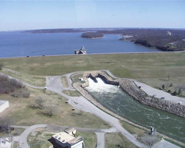 Oologah Dam Service Gates