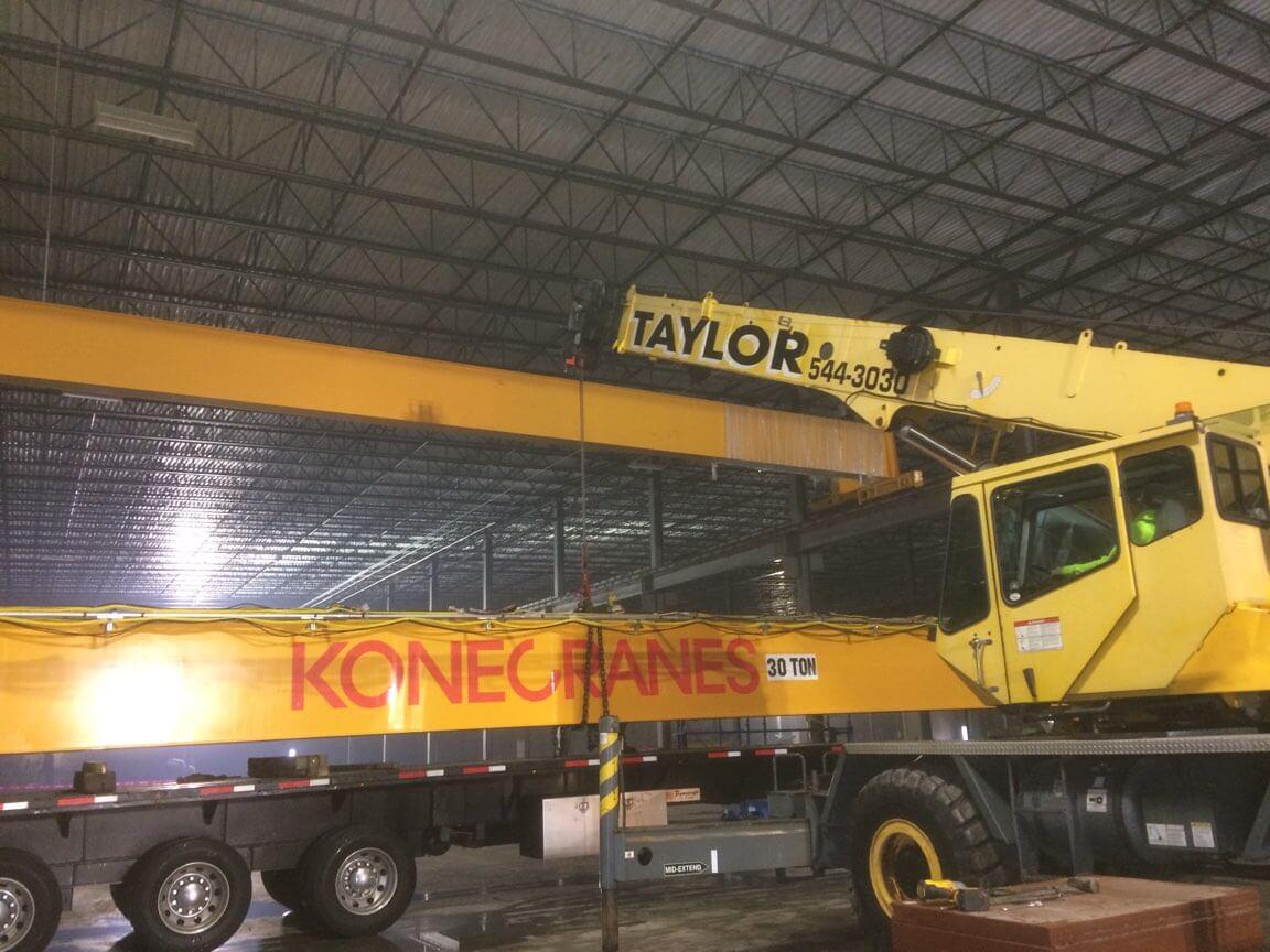 Konecranes 30 Ton and Taylor