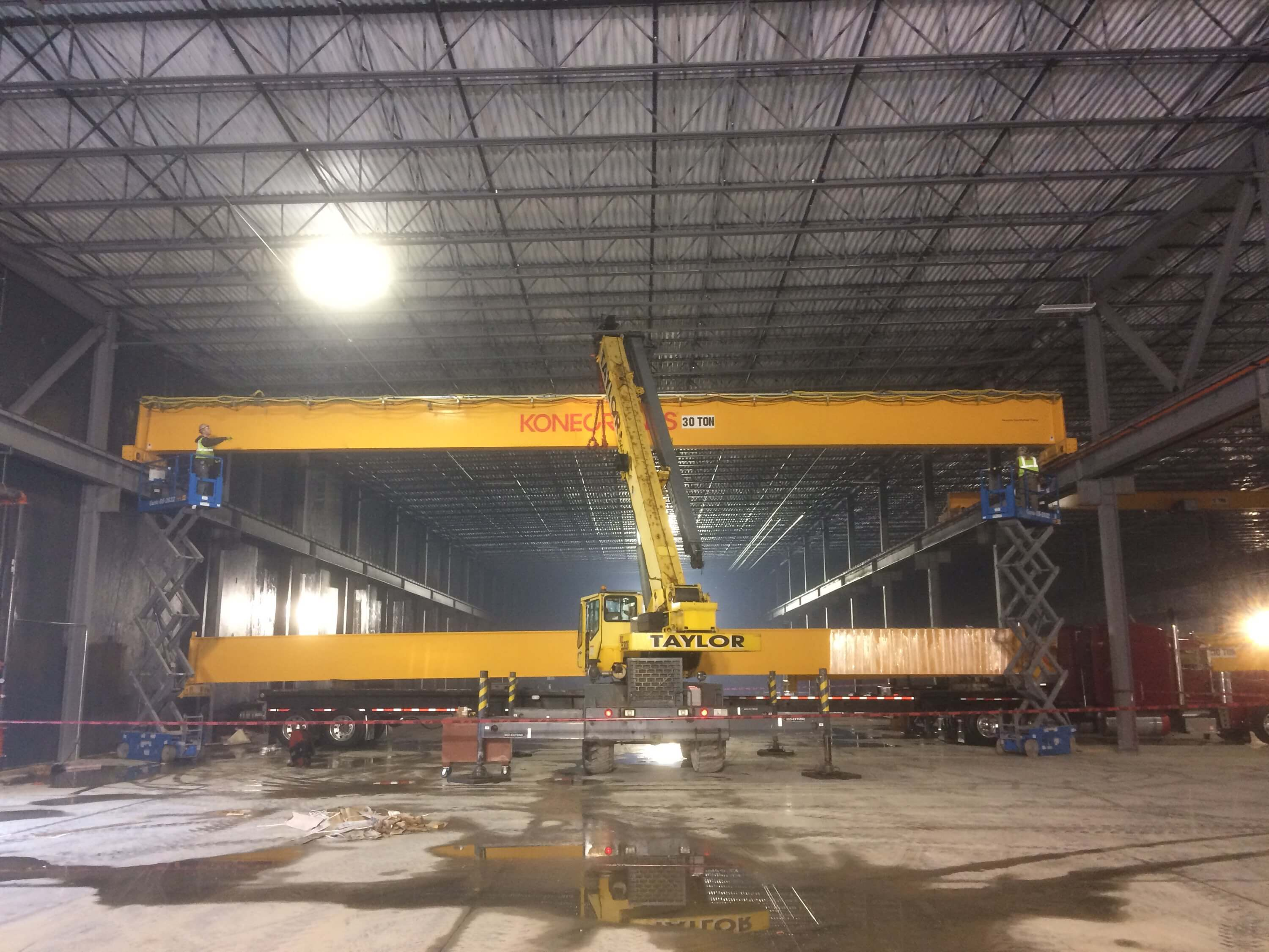 Konecranes and Extended Taylor