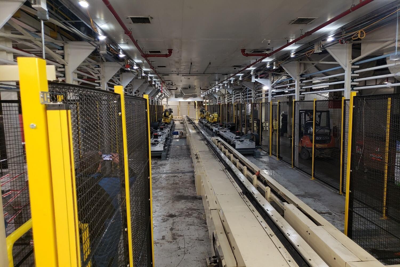 Nissan Plant in Smyrna TN Robotics Installation