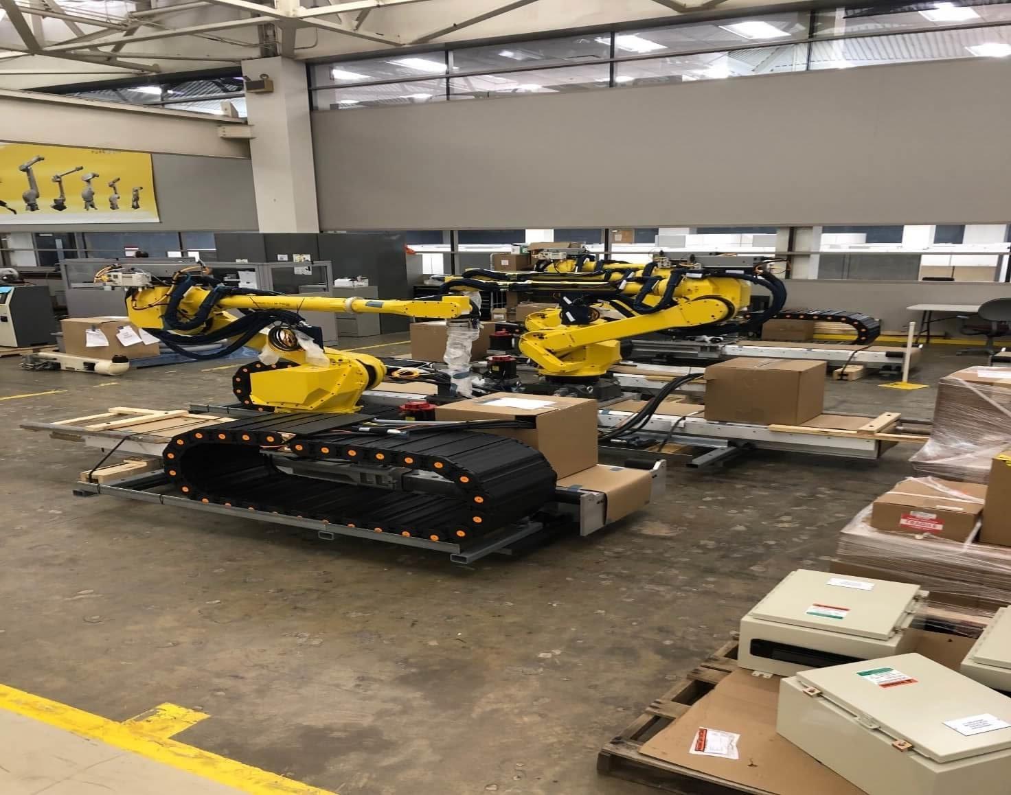 Nissan Robotics Install Progress